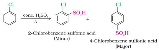 Sulphonation