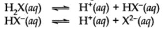 Di and Polybasic Acids