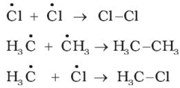 Mechanism of halogenation of alkanes