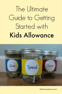 The Ultimate Guide to Getting Started With Kids Allowance: An allowance is a great way to teach kids how to manage money - if you do it correctly. Here's the ultimate guide to getting kids started with allowance.