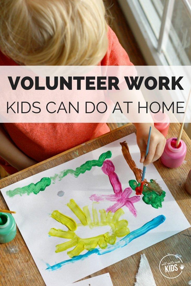VOLUNTEER ACTIVITIES FOR KIDS AND FAMILIES