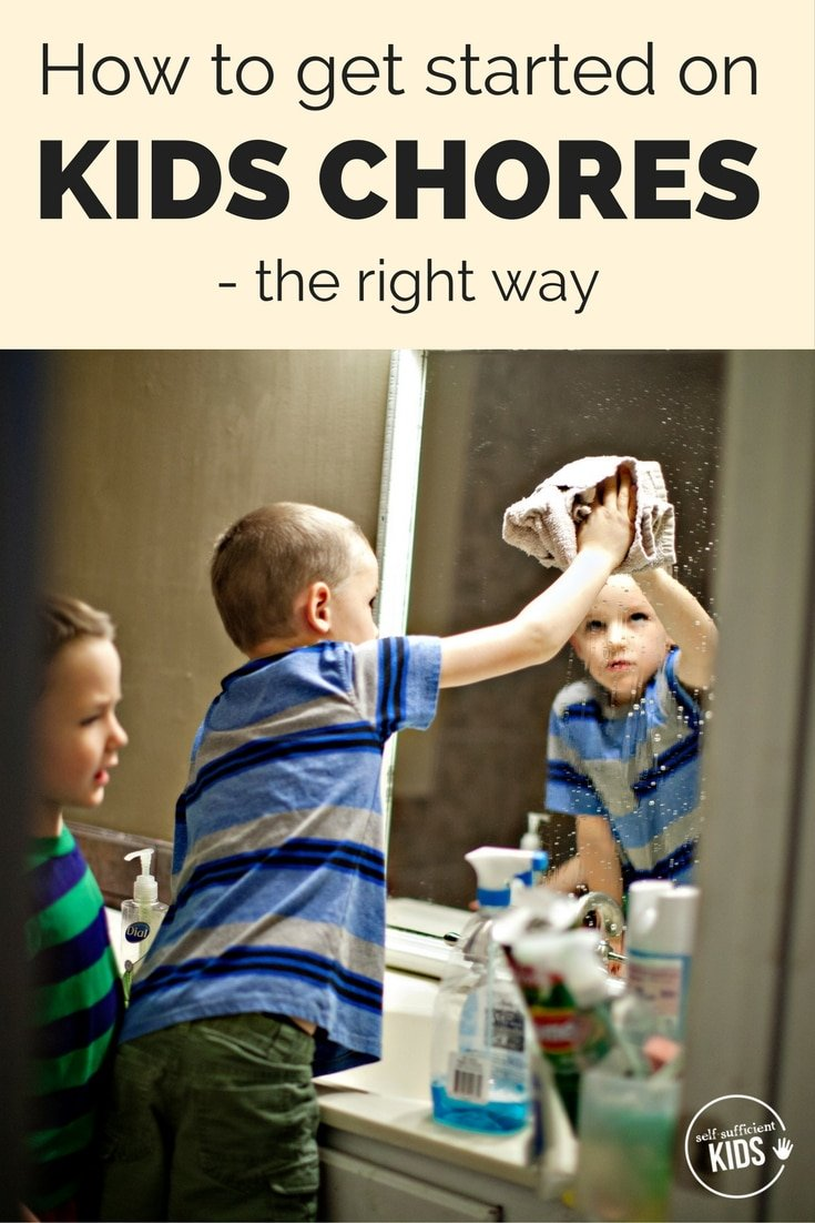 get started on kids chores