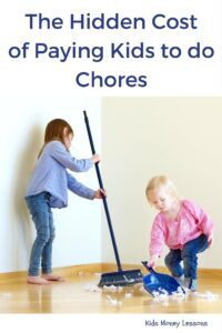 """The Hidden Cost of Paying Kids to do Chores: Should kids get paid for doing chores? Many parents say """"yes"""". But research suggests pay for chores could potentially backfire on parents and do more harm than good."""