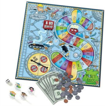 Money Bags Board Game