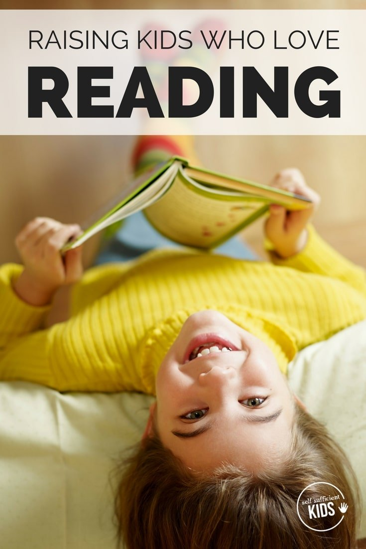 Raise kids who love reading with these 10 tips and ideas. #getkidstoread