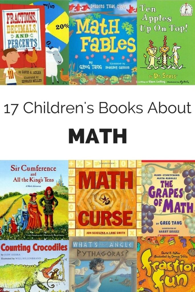 Whether your child is new to math, reluctant about math or absolutely loves math, these math books for kids are for you! #childrensbooks #booksforkids #kidsbooks #matheducation #math