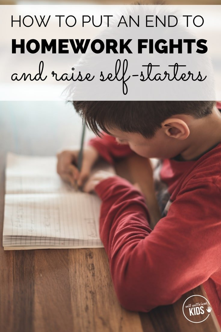 self-starters kids homework