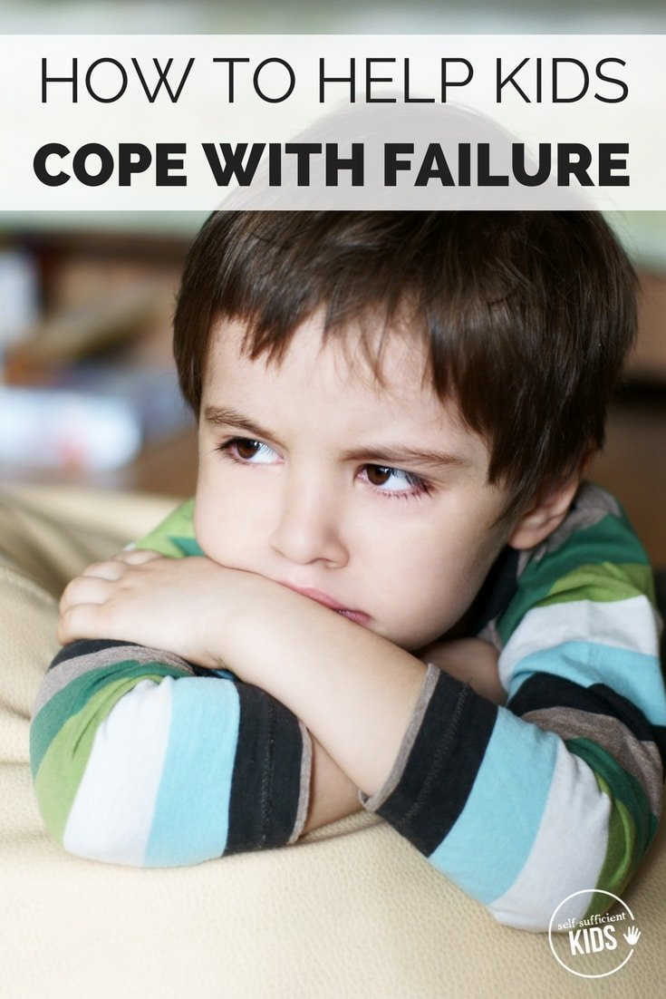 Inside: Tips and insights about how to help your child deal with failure while still encouraging them to keep trying.
