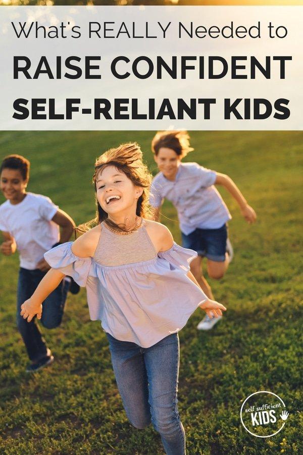 confident kids