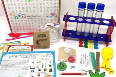Genius Box. Science Subscription Boxes for Kids