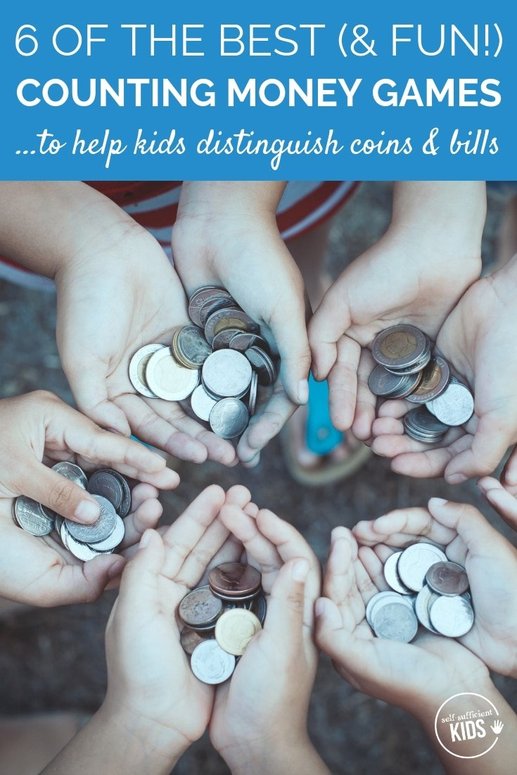 The first step in kids financial education is to learn how to distinguish and count money. The following counting money games can help kids master key concepts in counting coins and bills.