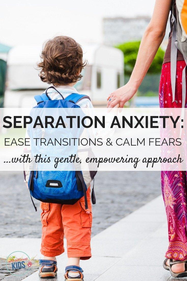 children's separation anxiety
