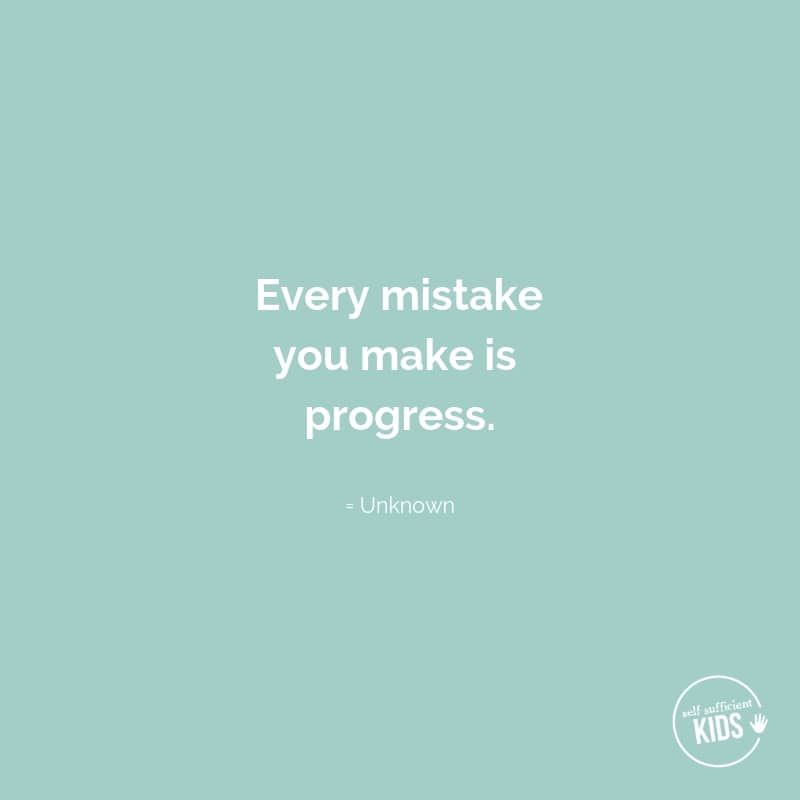 """""""Every mistake you make is progress."""" - Unknown #growthmindset #growthmindsetquotes"""