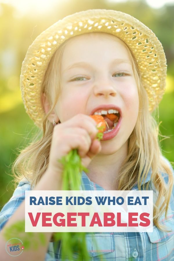 kids who eat vegetables