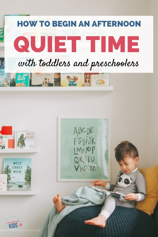 quiet time activities for kids