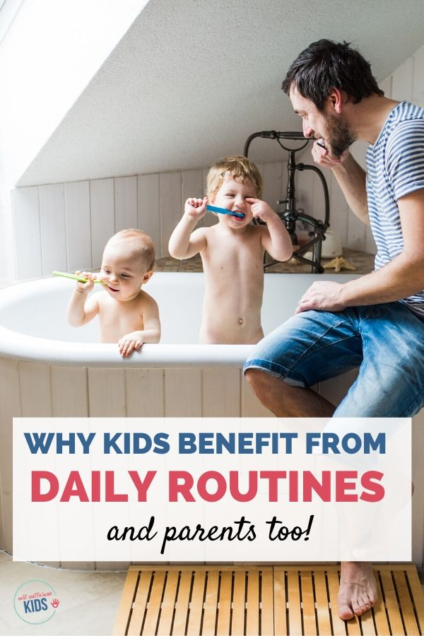 kids routines toddlers kids