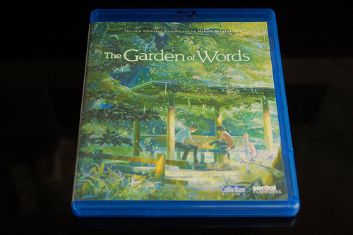 Japanese Anime Movie Review: The Garden of Words (2013, Blu-ray ...