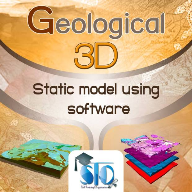 Geological 3D Static Modelling Online Course Using Software