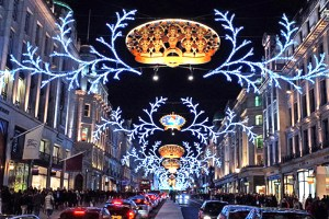 Christmas Piccadilly