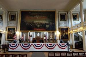 Faneuil Hall inside
