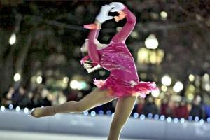 Free figure skating show