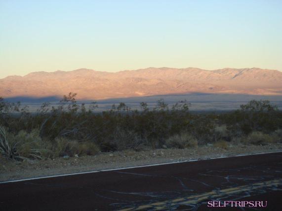 Desert around Las Vegas.