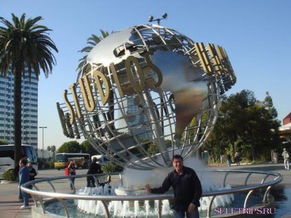 Парк аттракционов Universal Studios Hollywood.