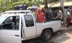 Transport to the border, Cambodia