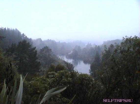 Huka Falls - Craters of the Moon - вулкан Таранаки.