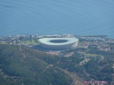 Столовая гора в Кейптауне.