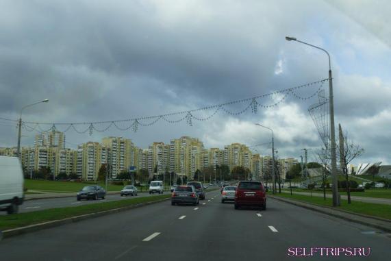 Москва - Минск на машине
