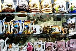 Mugs mineral water