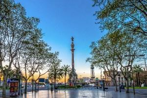 Monument Christopher Columbus