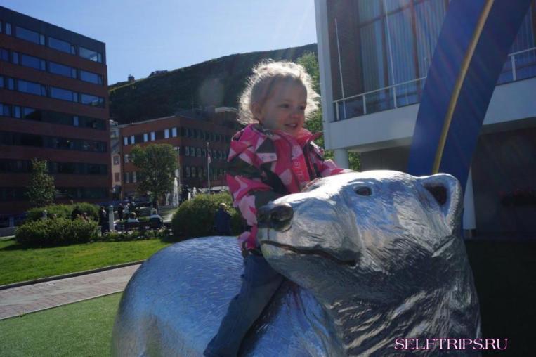 Хаммерфест, север Норвегии