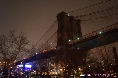 Фото Нью-Йорка из машины