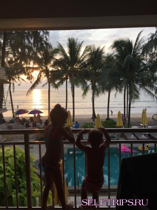 Пляж Камала и отель Kamala Bechfront Apartment