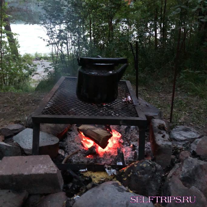 На Алтай с палатками