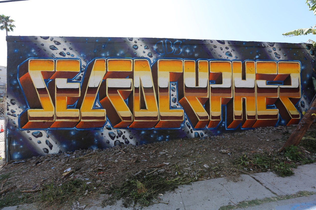 self selfuno dcypher graffiti production letters sunset silverlake echo park los angeles downtown dtla asteroids