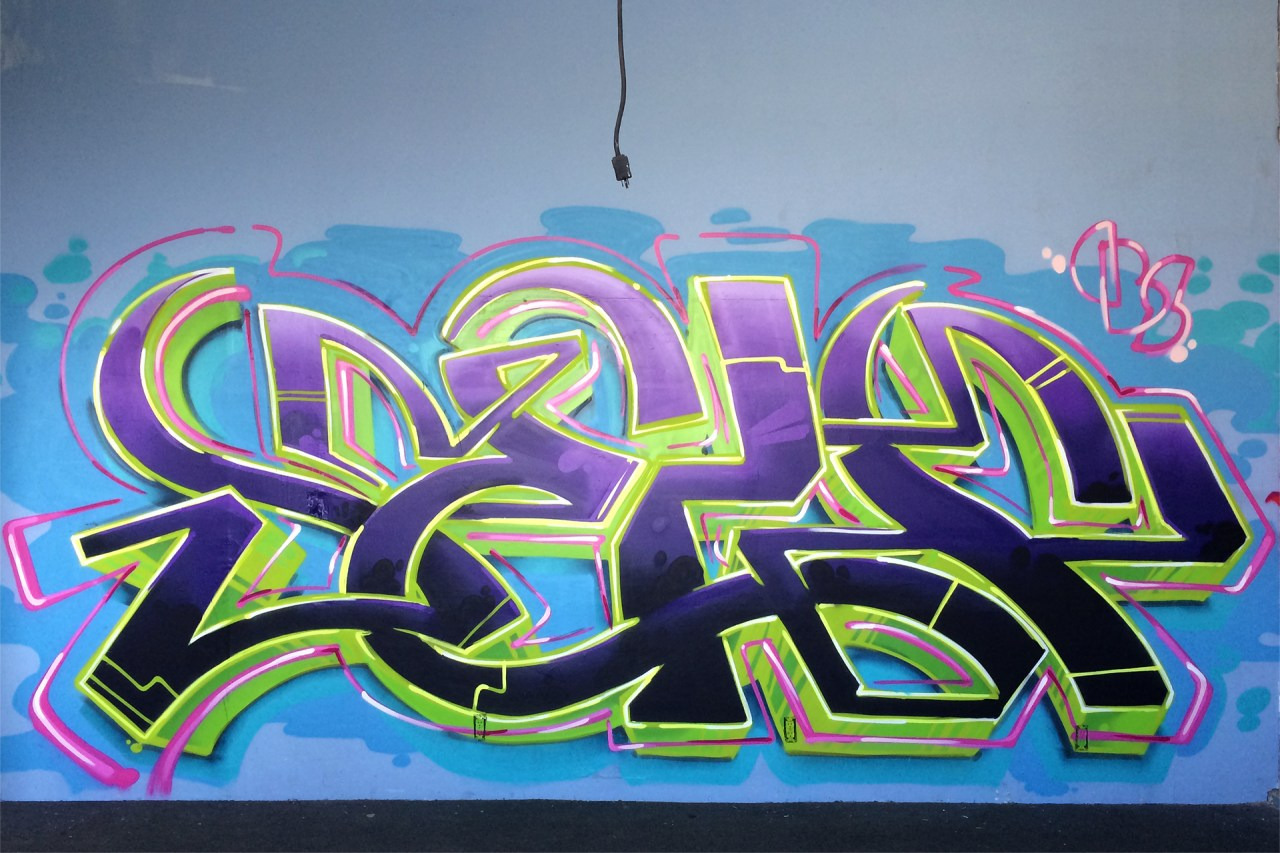 self uno selfuno graffiti art spraypaint los angeles dtla boyle heights container yard july 2015