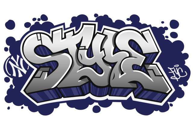 style piece digital letters graphic design logo illustration self uno selfuno art nov 2009
