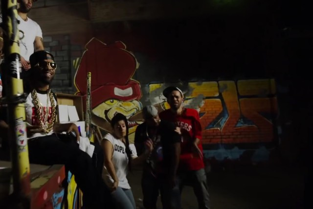 redman dopeman music video self selfuno graffiti artist for hire mural commission aert painting scenic production october 2015