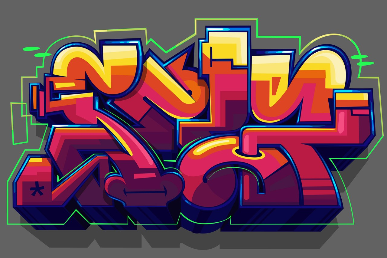 digital graffiti piece burner sketch illustrator photoshop jan 31 2017