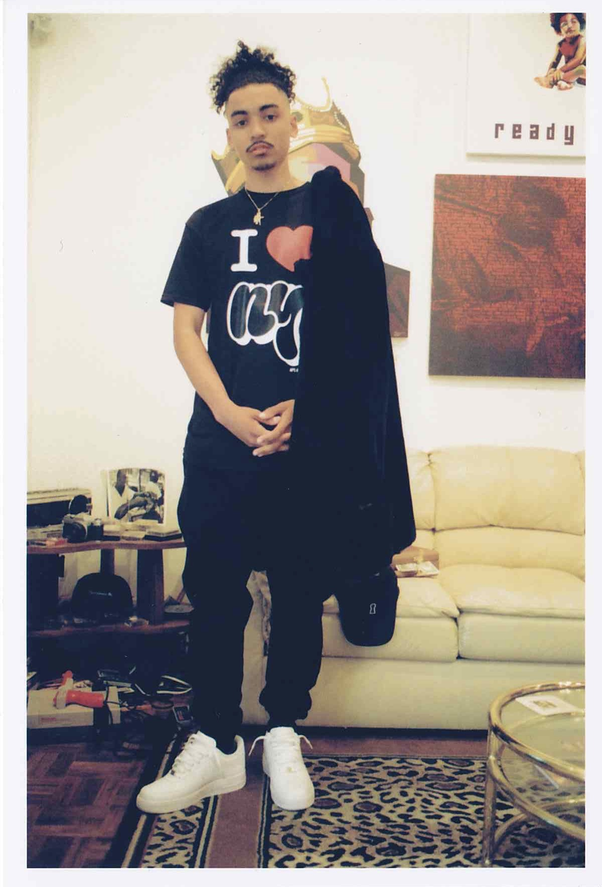 Love SelfUno for APT.4B black tee shirt
