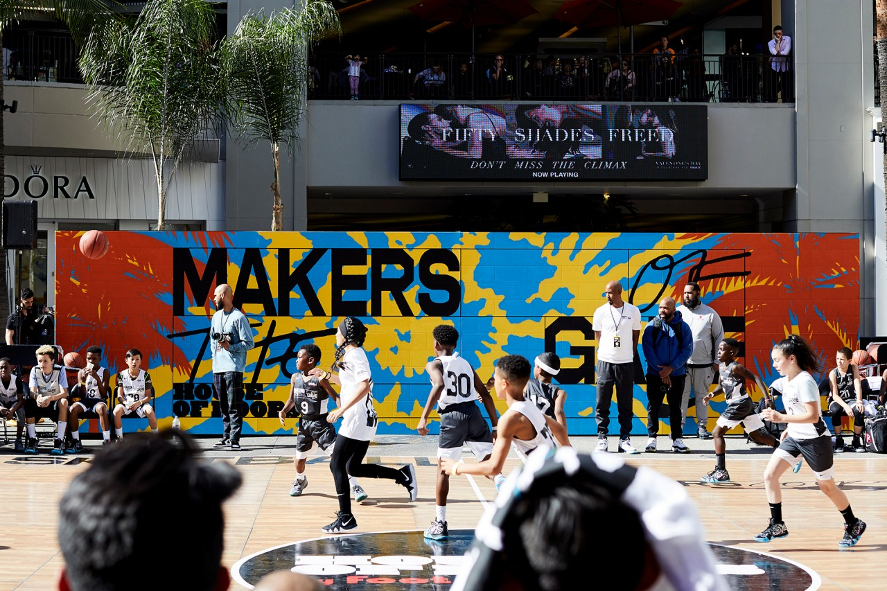 makers_of_the_game_nike_house_of_hoops_nba_allstar_2018_los_angeles_footlocker_hollywood_highland_klughaus_gallery_graffiti_usa_selfuno_mural