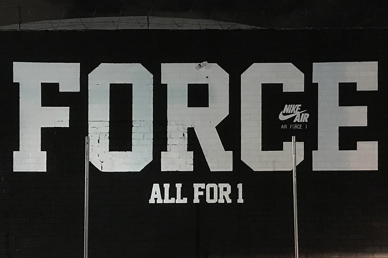 nike_air_force_one_all_for_one_handpainted_sign_mural_south_central_losangeles_november_2018