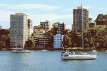 View from Luna Park, Sydney Australia