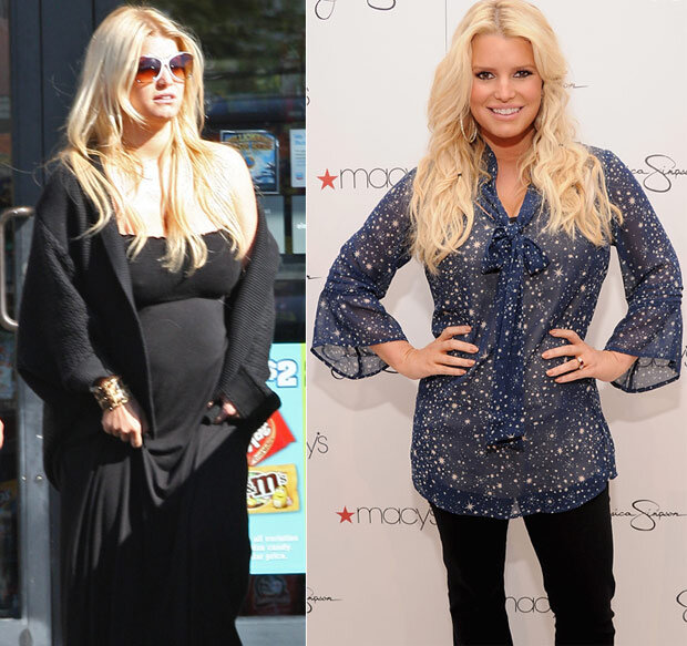 celebrity weight loss, Jessica simpson