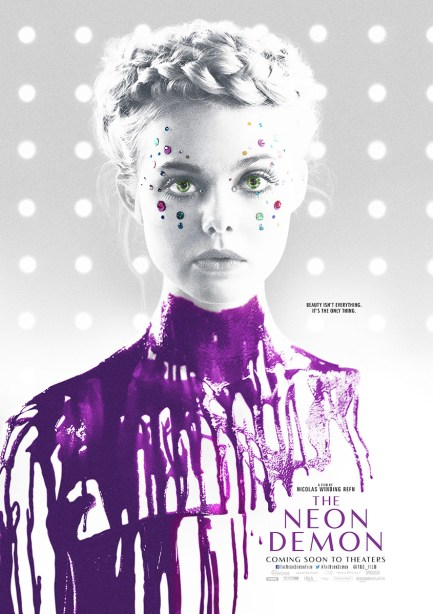 the neon demon poster dallas film movie review