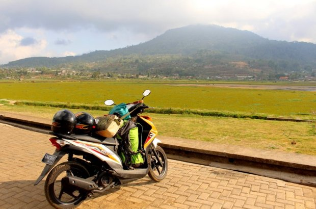 Near Bratan Lake in Bedugul - Bali