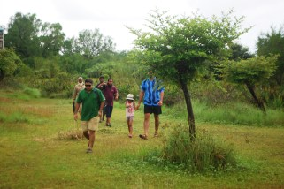 Forest hike in Sunderbans, Bangladesh